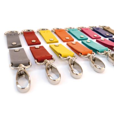 porte-clés personnalisé en cuir