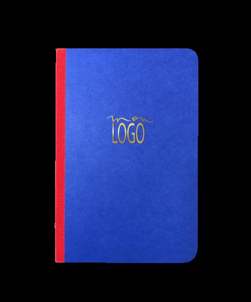 carnet personnalisé bleu de France